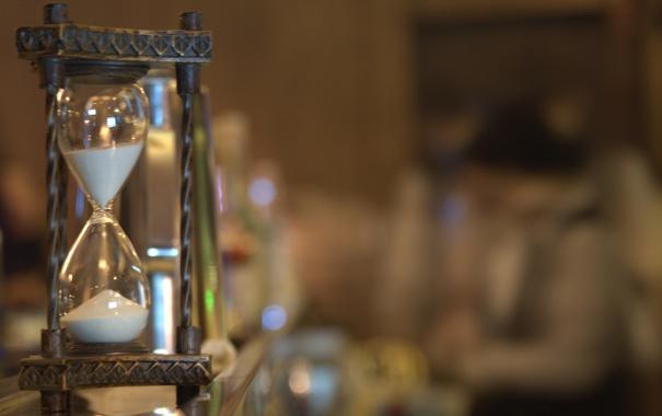 Фото обои песок, время, часы