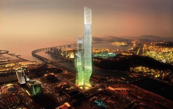 Фото обои World, Center, Busan, Business