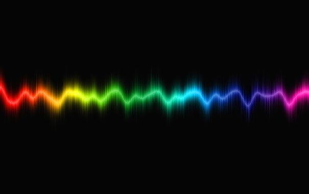 Фото обои цвета, color, strobe line, частота