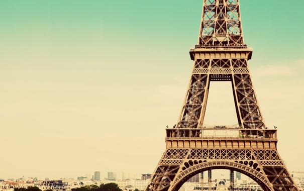 Фото обои Paris, France, tour Eiffel, Torre Eiffel