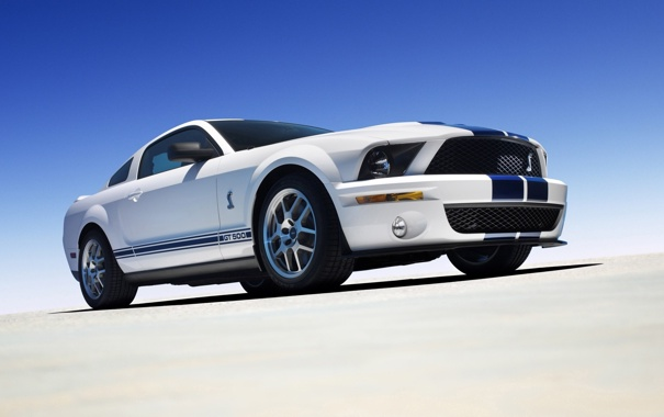 Фото обои widescreen, Mustang, Shelby, ford, auto wallpapers, Cobra GT500
