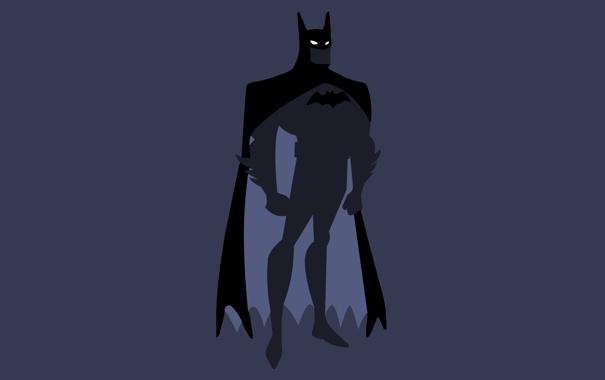 Фото обои минимализм, Бэтмен, Batman, Minimal, DC Comics, Justice League, Лига Справедливости