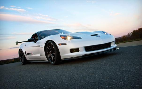 Фото обои Concept, Corvette, Chevrolet, Car, 2011, Z06X, Track