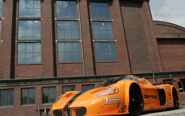 Фото обои Maserati, Competition, MC12, Edo