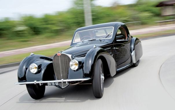 Фото обои 1937, Coupe by Gangloff of Colmar, Type 57S