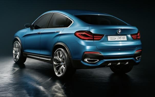 Фото обои Concept, BMW, БМВ, концепт, вид сзади
