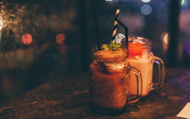Фото обои кружка, коктейль, напиток, day, rainy, Refreshments