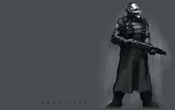 Фото обои combine, soldier, half life, alliance