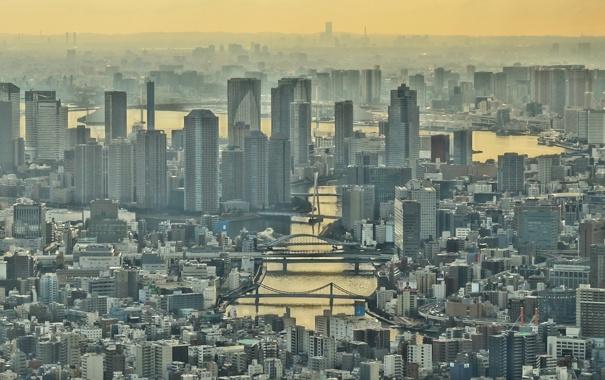 Фото обои Tokyo Prefecture, Oshiage 1 Chome, Japan, Tokyo