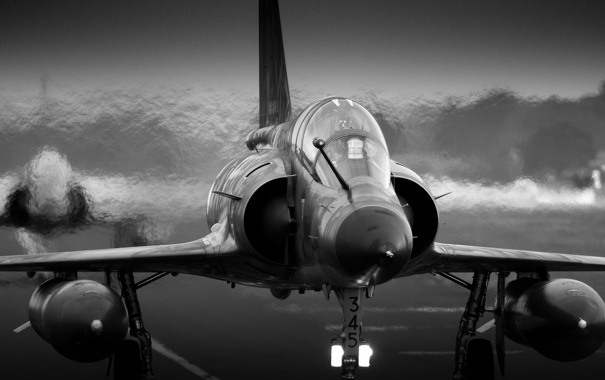 Фото обои истребитель, многоцелевой, «Мираж», Mirage 2000Ns