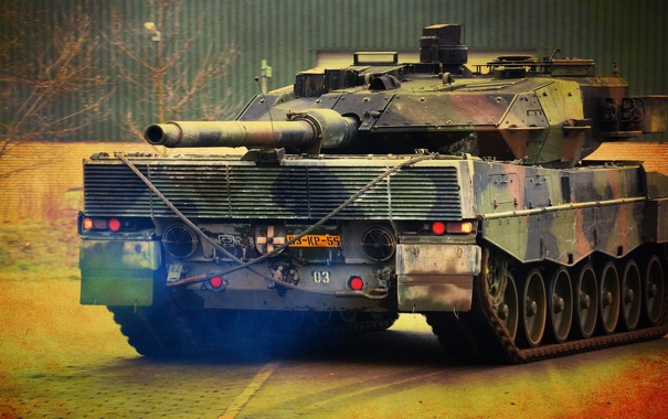 Фото обои Leopard 2A6, tank, Royal Netherlands Army