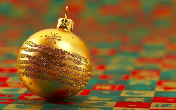 Фото обои фото, настроение, праздник, обои, игрушка, новый год, шарик