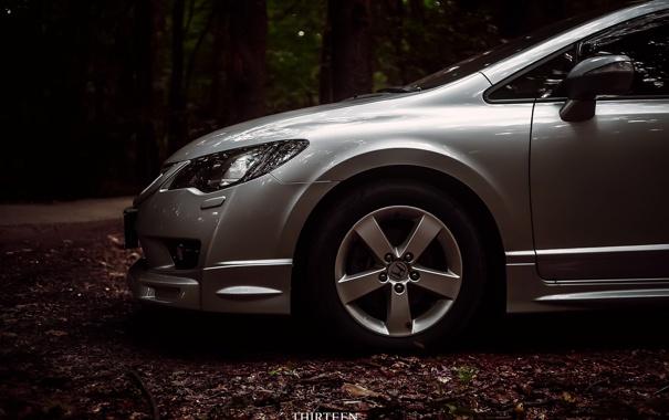 Фото обои машина, авто, фотограф, Honda, диски, auto, photography