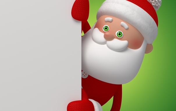 Фото обои christmas, санта, новый год, new year, santa, santa claus, рождество
