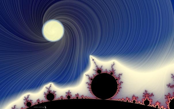 Фото обои круги, цвет, пятна