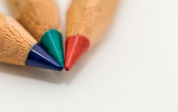 Фото обои цвет, карандаш, рисование, грифель