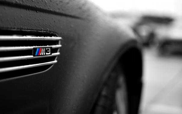 Фото обои BMW, черная