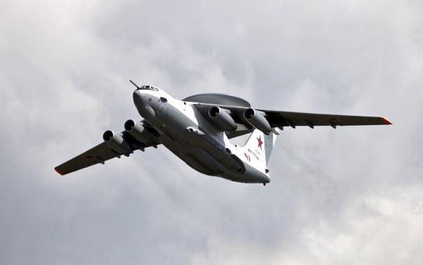 Фото обои ввс россии, А-50У, Самолёт ДРЛО