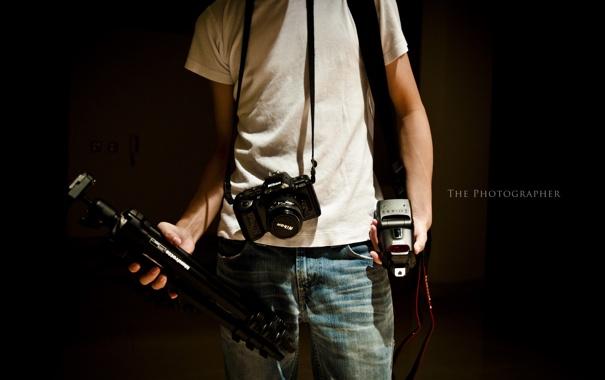 Фото обои фон, фотограф, фотоапарат