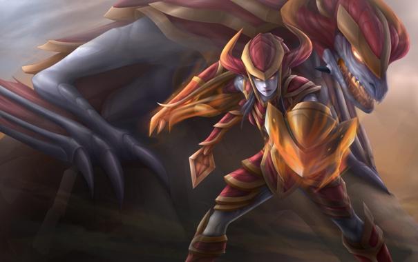 Фото обои League of Legends, Shyvana, the Half-Dragon