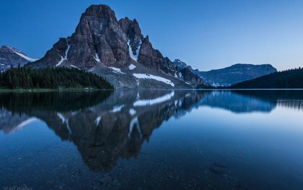 Фото обои вода, гора, Jeff Wallace