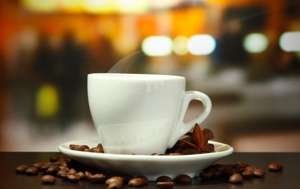 Фото обои кофе, шоколад, корица, кофейные зерна, аромат