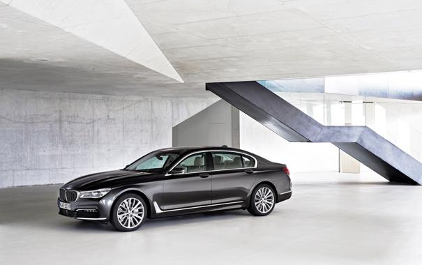 Фото обои бмв, BMW, 750Li, xDrive, 2015, G12