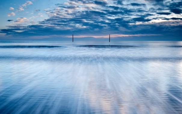 Фото обои природа, пейзаж, небо, море
