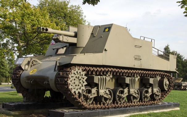 Фото обои установка, самоходно-артиллерийская, класса, «Секстон», самоходных гаубиц, Sexton