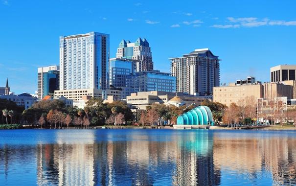 Фото обои city, город, USA, Orlando, Florida