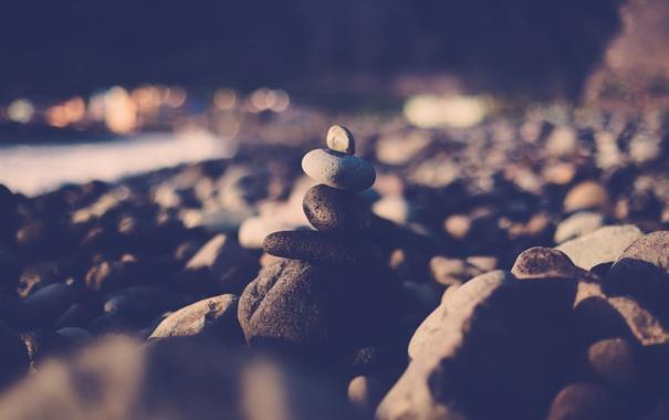 Фото обои камни, маленький, большой, разные