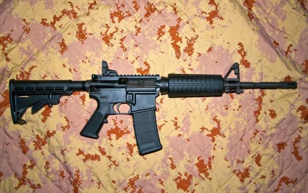 Фото обои оружие, фон
