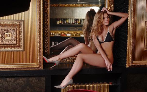 Фото обои девушка, симпатичная, Дарья Машанова