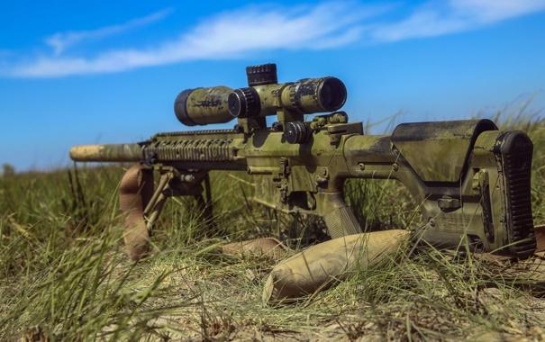 Фото обои оружие, фон, M240