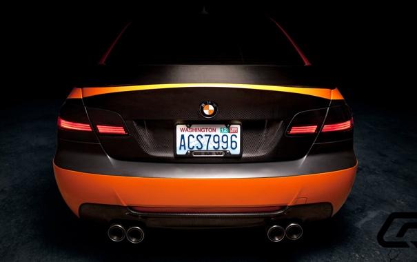 Фото обои BMW, Orange, Carbon, 335i, Matte, Carrozzeria