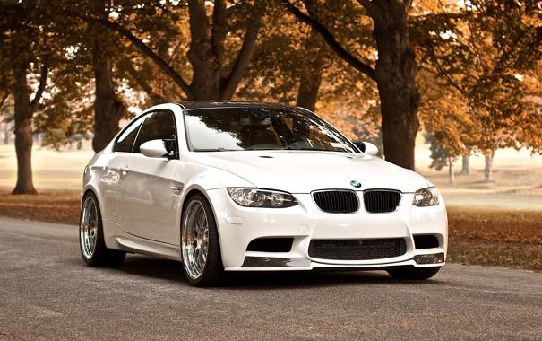 Фото обои осень, bmw, бмв, тачки, cars, auto wallpapers, авто обои