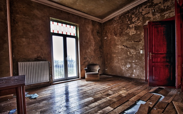 Фото обои комната, интерьер, кресло