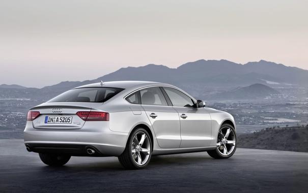 Фото обои Audi, ауди, тачки, вид, A5 sportback, машины, фото