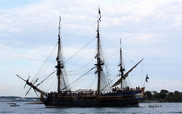 Фото обои фото, корабли, парусные, Pirate ship