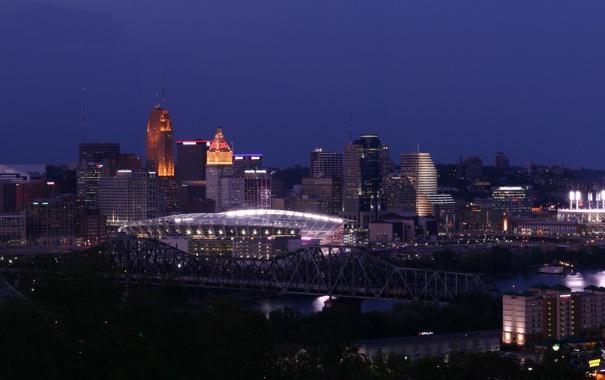 Фото обои city, город, USA, Cincinnati, Ohio
