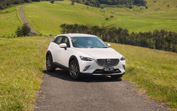 Фото обои Mazda, мазда, AU-spec, 2015, CX-3