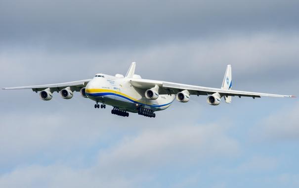 Фото обои самолёт, Ан-225, реактивный, транспортный, «Мрия»