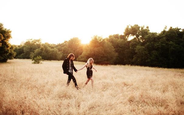 Фото обои девушка, природа, пара, парень, Jacob, Cheslea