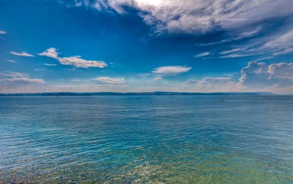 Фото обои вода, отражение, дно, Альпы, Боденское озеро