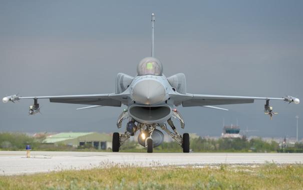 Фото обои истребитель, Fighting Falcon, F-16C, «Файтинг Фалкон»