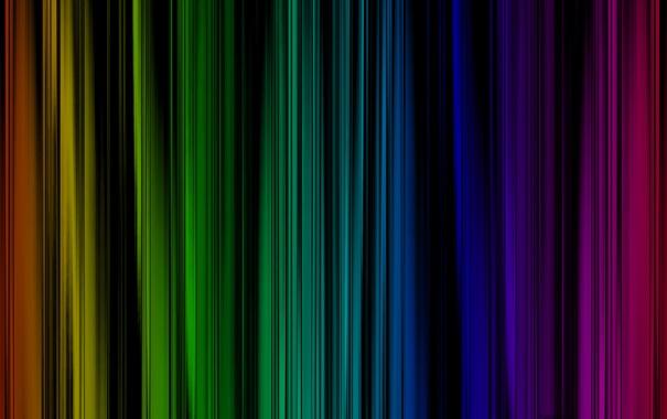 Фото обои линии, радуга, текстура