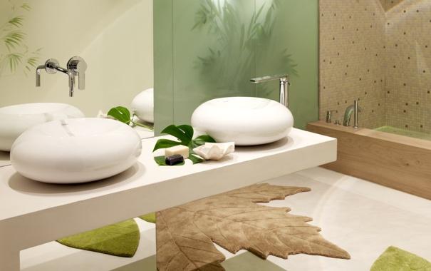 Фото обои style, interior, bathroom, miscellanea
