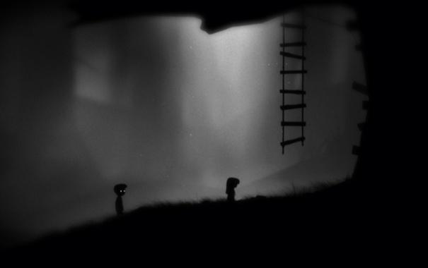 Фото обои игра, лимб, Limbo, videogame, лимбо, pazl, первый круг ада