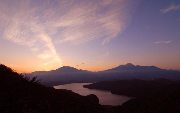 Фото обои небо, горы, природа, обои, пейзажи, красота