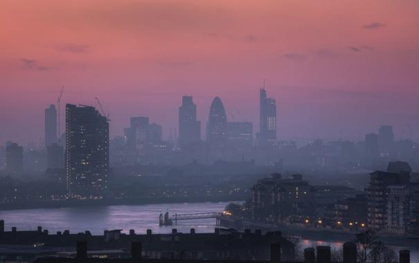 Фото обои город, англия, лондон
